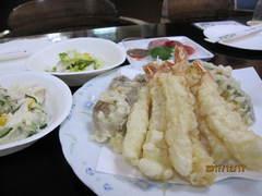 天ぷらは、美味しいと大好評でした。